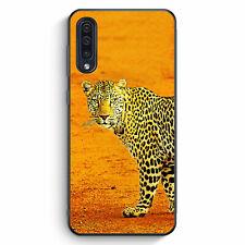 Leopard Samsung Galaxy A50 Silikon Hülle Motiv Design Tiere Schön Cover Handy...