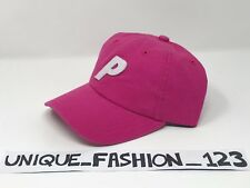 PALACE SKATEBOARDS SS16 6 PANEL P HAT CAP HOT PINK BRIGHT MAGENTA CURVED PEAK