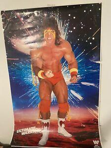wwf poster Vtg Ultimate Warrior 80's Wrestling Catalog Item Wwe