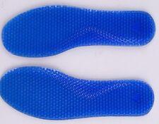 2 WOMEN or MEN Silicone Insoles Pads Cushion Foot Feet Shoe Gel Walking Running