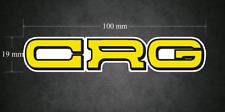 CRG STICKER/DECAL - 100 Mm x 19 Mm-Karting-Go-Kart