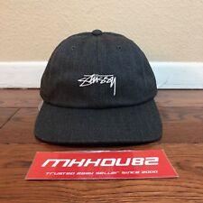 New Stussy Stock Herringbone Low Pro Baseball Hat Cap 5-Panel Grey World  Tour adc4fca5b6c3