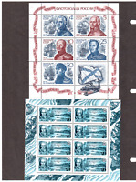 Russia.1991,1989,1987 4 Mini sheet MNH**OG