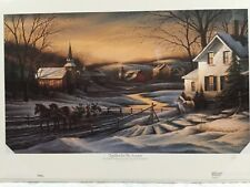Terry Redlin TOGETHER FOR THE SEASON Signed Open Edition Print