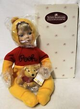 "Ashton-Drake Disney ""You Need a Hug, Pooh"" Cindy McClure Porcelain Doll"