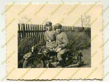 Foto, NSU moto, campo gendarmeria formazione in Erfurt, C (n) 19443