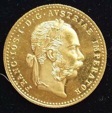 2-1915 Austrian Ducat - Uncirculated Gold 98% Pure