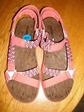 MERRILL WOMENS STRAP SANDALS SHOES NEW WITHOUT TAGS SIZE 10W