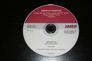 CASE IH AXIAL-FLOW 7120 8120 9120 COMBINE SERVICE REPAIR MANUAL
