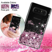 For Samsung Galaxy Note10 S10 S9 S8 Plus S10e A20 Liquid Glitter TPU Case Cover