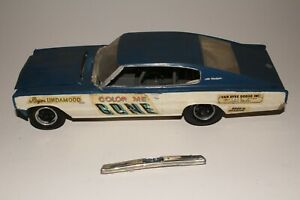 MPC Color Me Gone 1967 Dodge Charger Funny Car, Original 1/24 Scale