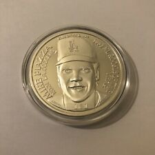 DODGERS MIKE PIAZZA Rookie 1 Troy Ounce Silver Coin Limited #161/1500 Enviromint
