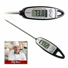 Chef Remi Digital Cooking Thermometer Instant Read Lifetime Replacement Warranty