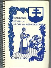 SLOVAK COOKBOOK - JOLIET, ILLINOIS - SS. CYRIL & METHODIUS CHURCH - GREAT ETHNIC