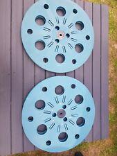 16mm Film  Elf 2200ft Spools Blue.