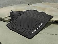 2003-2009 Toyota 4Runner BLACK All-Weather Floor Mats (4) OEM PT908-89090-20
