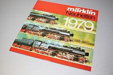 Märklin Catalogo Novità 1979 traccia h0