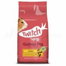 Twitch Guinea Pig Nuggets Wagg Pet Food Feed Animal Pellets 2kg
