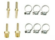 "10 PC 3/8"" Air Hose Repair Kit Air Tools Hose End Mender and Clamp 1/4"" NPT"