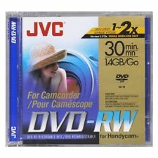 Cintas y discos de videocámara JVC
