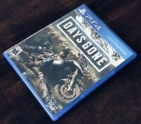 Days Gone PS4 PlayStation 4 Plastic Case Only (NO GAME!) Sony Bend Studios