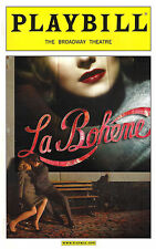 "Baz Luhrmann's ""LA BOHEME"" Alfred Boe / Joseph Jonas / Ben Davis 2003 Playbill"