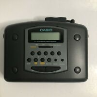 Vintage Casio AM/FM Stereo Cassette Player AS-703R No Clip Tested and Working