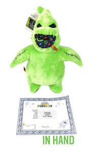 Build A Bear Nightmare Before Christmas Oogie Boogie NEW w Sound & Certificate