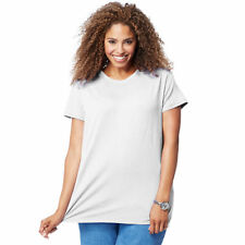 c1d6be36 Just My Size Women's Plus-size Short Sleeve Crew Neck Tee White 3x