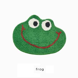 Frog Bathroom Rug Soft Carpet Toilet Kitchen Area Floor Mat Door Mats Home Decor