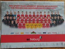 SC Freiburg Fußball 2021 Kalender