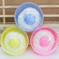 KE_ Portable Baby Kid's Soft Body Talcum Powder Puff Sponge + Box Case Contai