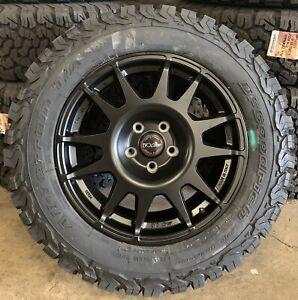 "EVO Corse DakarZero 18"" VW Amarok Alloy Wheels & BFG Tyres x4"