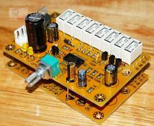 4-channel advanced relay volume control panel / HIFI volume board