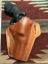 "S&W Model 25 27 29 Taurus 44 Tracker 4"" Pancake Leather Holster"