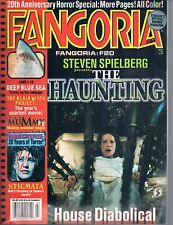 Fangoria #184 The Haunting Deep Blue Sea Blair Witch Project Stigmata 1999