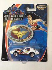 MATCHBOX JUSTICE LEAGUE WONDER WOMAN DIE-CAST TOY CAR 2003 DC COMICS
