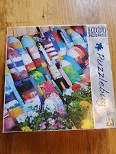 Puzzlebug 1000 Piece Jigsaw Puzzle Colorful Fishing Buoys New Factory Sealed