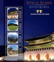 Micronesia- Philakorea Expo-Sites And Scenes Of South Korea Stamp - S/h 4 MNH