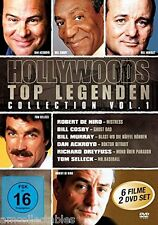 DVD BOX - HOLLYWOODS TOP LEGENDS COLLECTION 1 - 6 FILME AUF 2 DVDs