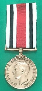 SPECIAL CONSTABULARY LONG SERVICE MEDAL - FREDERICK E. CARRUTHERS - police