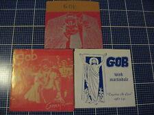 "GOB 3 7"" lot Reno noise rock Iron Lung Kralizec Loadstar Wink Martindale"
