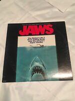 Vtg JAWS Original Soundtrack LP Vinyl Record Album Orig MCA 2087 NM