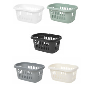 Wham Plastic High Grade Hipster Style Washing Clothes Linen Storage Basket