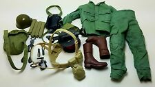 Military Uniform Weapons Accessories for 1/6 Scale Action Figure GI Joe Lot #400