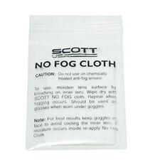 Scott No Fog Cloth Individual Defog Goggles Cleaner NEW Motorcycle ATV Glasses