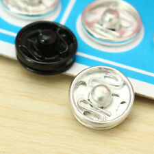 100Pcs 10mm Metal Snap Buttons Fasteners Clothes Shirts Sewing Accessories DIY