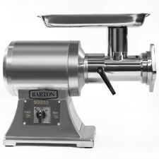 1100W Electric #22 Meat Grinder Stainless Steel Heavy Duty Sausage Tube 2-Speed