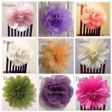 Paper wedding hanging decorations ebay large paper flower wedding flowers backdrops photo props party events wall decor mightylinksfo