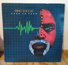 Disco vinile LP 33 giri -  GINO SOCCIO - FACE TO FACE - 1982